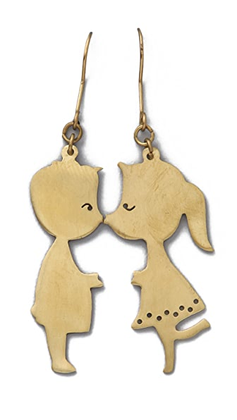 Monserat De Lucca Boy & Girl Earrings