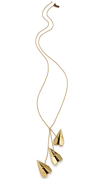 Monserat De Lucca Paper Planes Necklace