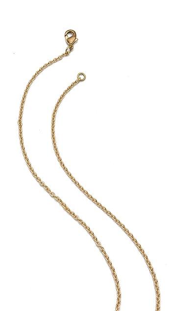 Monserat De Lucca Jack Rabbit Necklace