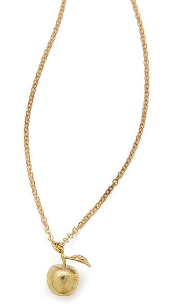 Monserat De Lucca Apple Necklace