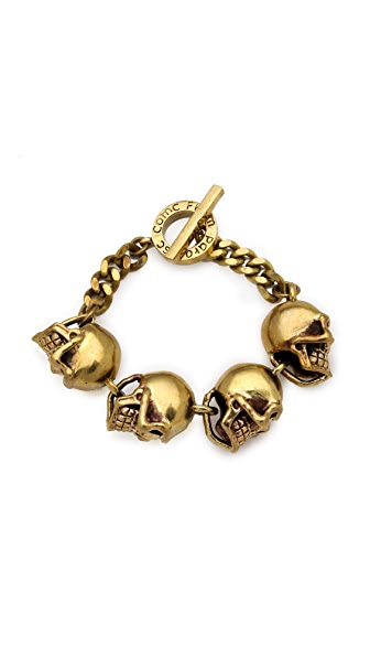 Monserat De Lucca Skull Bracelet
