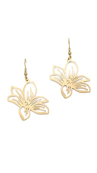 Monserat De Lucca Flower Earrings