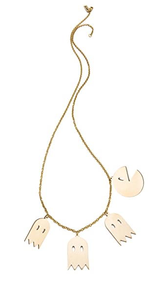 Monserat De Lucca Pac Man Necklace