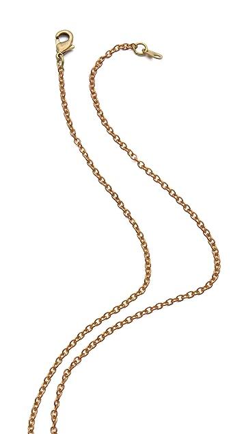 Monserat De Lucca Moose Antler Necklace