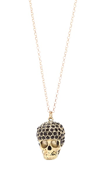 Monserat De Lucca Afro Skulls Necklace