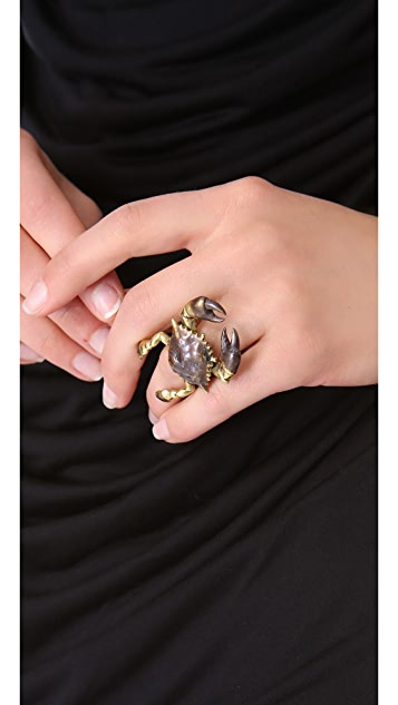 Monserat De Lucca Cancer Ring