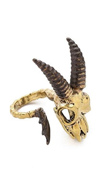 Monserat De Lucca Capricorn Ring