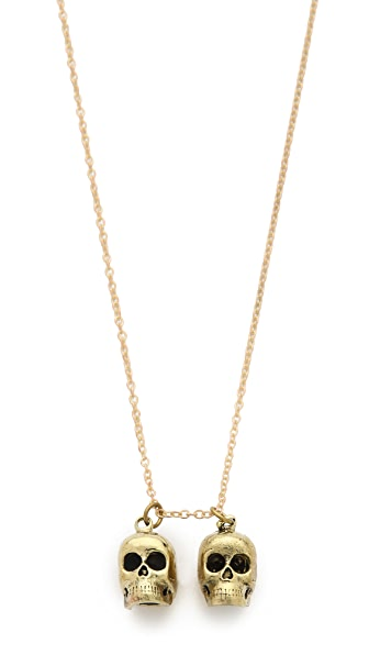 Monserat De Lucca Gemini Zodiac Necklace
