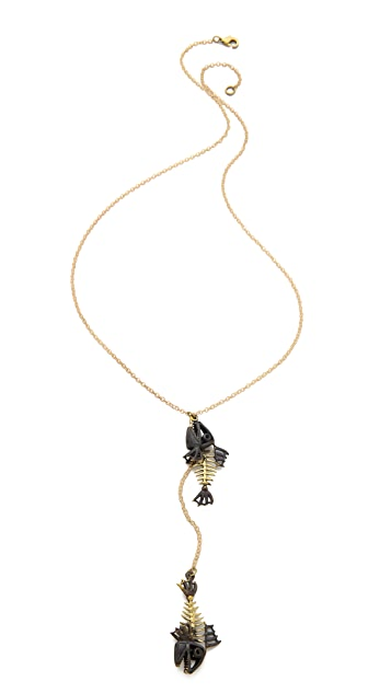 Monserat De Lucca Pisces Zodiac Necklace