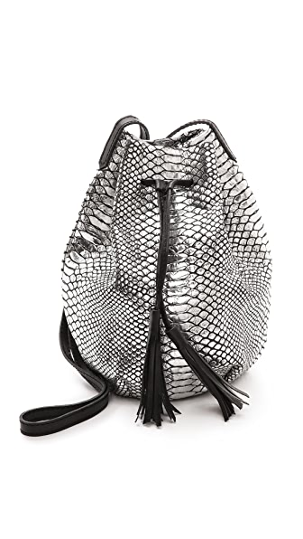 Monserat De Lucca Serpiente Bucket Bag