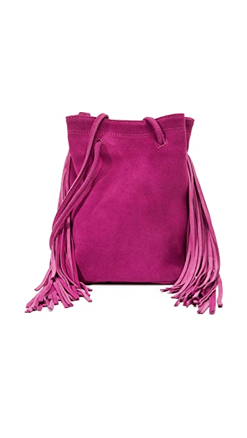 Monserat De Lucca Noe Petite Fringe Cross Body Bag