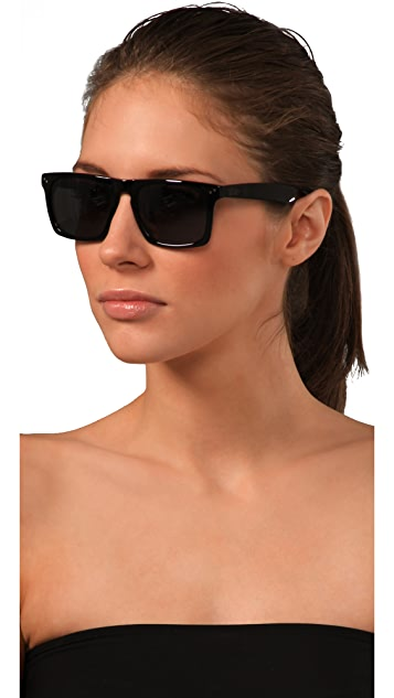 Mosley Tribes Eyewear Lyndel Oversized Sunglasses