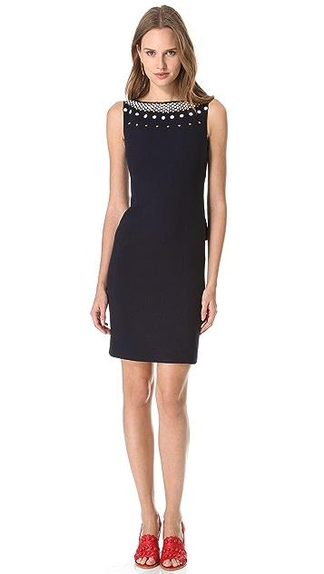 Moschino Studded Sleeveless Dress