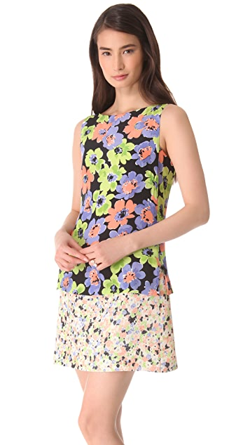 Moschino Sleeveless Floral Dress