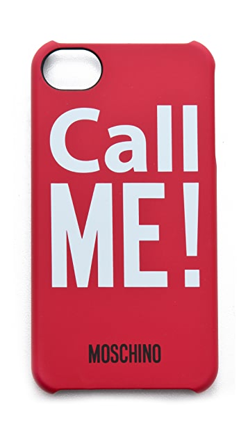 Moschino Call Me! iPhone Case