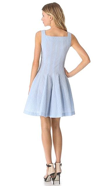 Moschino Flower Jacquard Dress