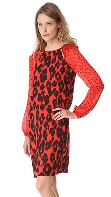 Moschino Cheap and Chic Printed Dress