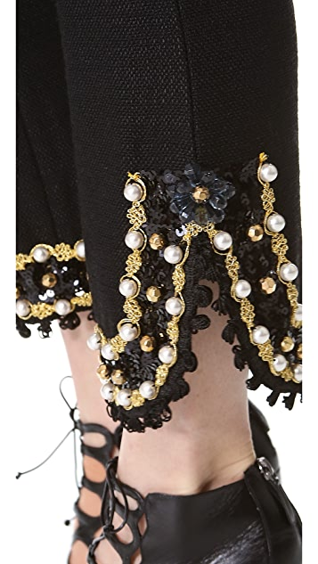 Moschino Embellished Pants