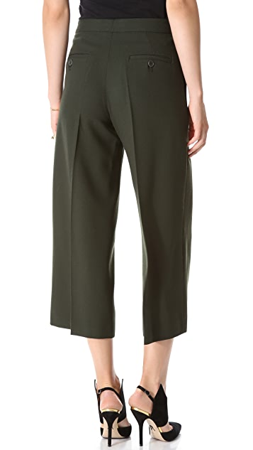 Moschino Cropped Wide Leg Pants