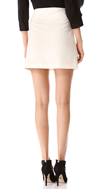Moschino Crepe Skirt