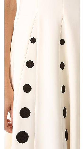 Moschino Sleeveless Crepe Dress