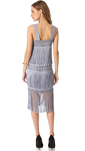 Moschino Sleeveless Flapper Dress
