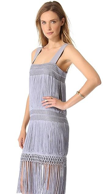 Moschino Sleeveless Flapper Dress