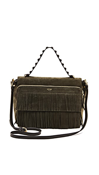 Moschino Fringe Handbag