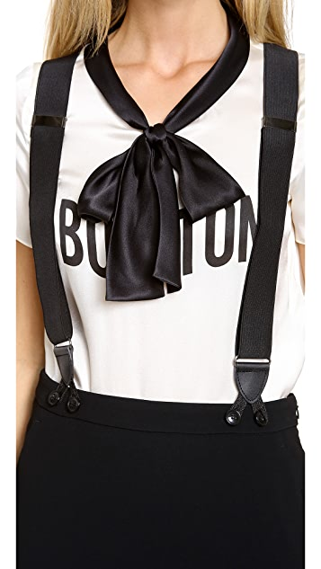 Moschino Cheap and Chic Suspender Skirt
