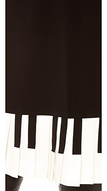 Moschino Cheap and Chic Piano Dress