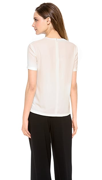 Moschino Cheap and Chic Short Sleeve Top