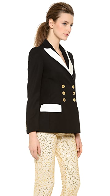 Moschino Blazer with Gold Buttons