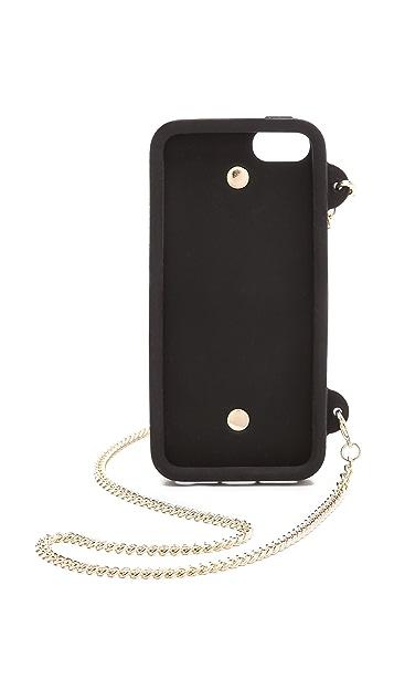 Moschino Moschino iPhone Purse Case