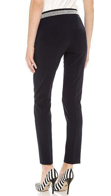 Moschino Dot Waist Straight Pants