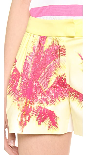 Moschino Cheap and Chic Palm Shorts