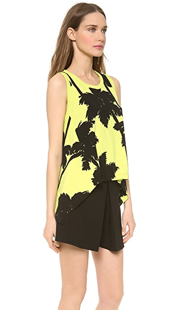 Moschino Cheap and Chic Sleeveless Crepe Top