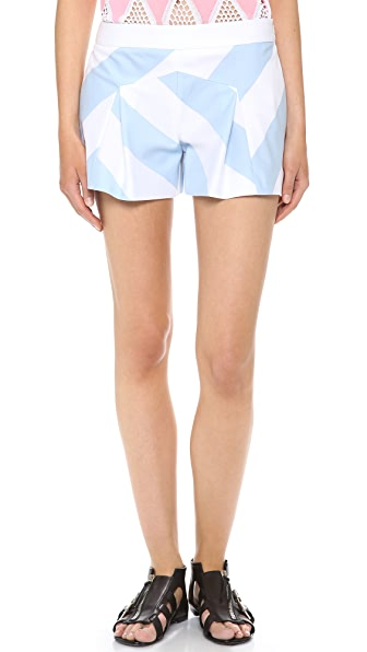 Moschino Cheap and Chic Printed Shorts