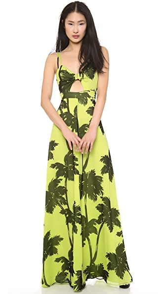 Moschino Cheap and Chic Sleeveless Maxi Dress