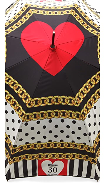 Moschino Printed Umbrella