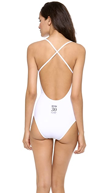 Moschino One Piece Swimsuit