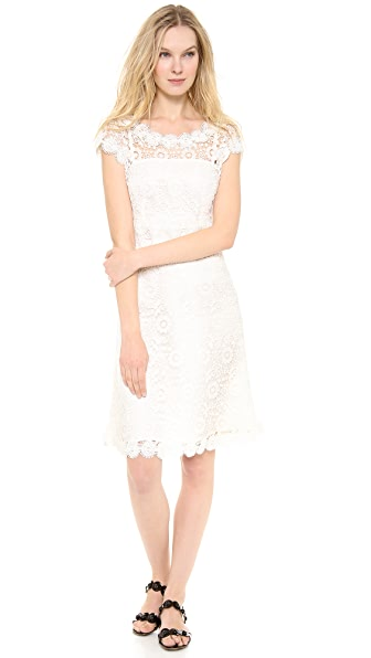 Moschino Flower Lace Dress