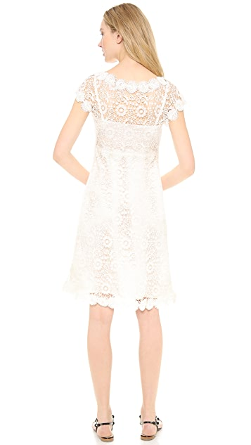Moschino Flower Lace Dress
