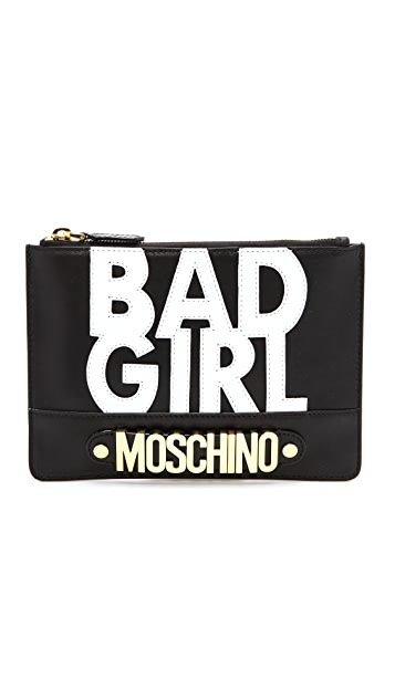 Moschino Bad Girl Clutch
