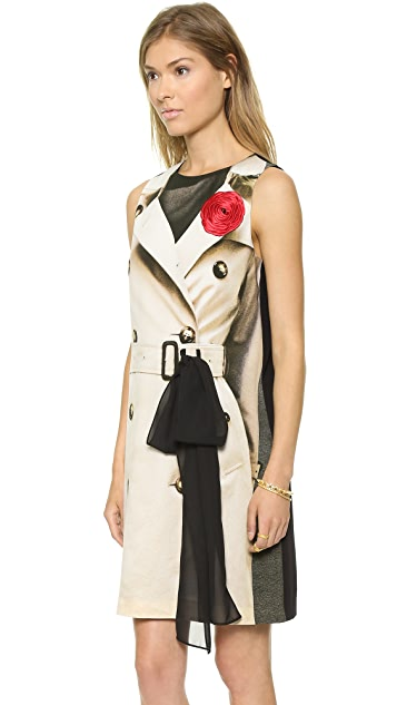 Moschino Cheap and Chic Trench Dress