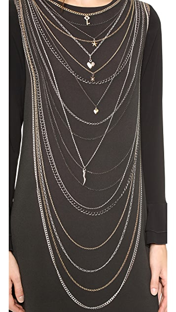 Moschino Cheap and Chic Chain Dress