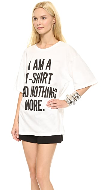 Moschino Nothing More Cotton Tee