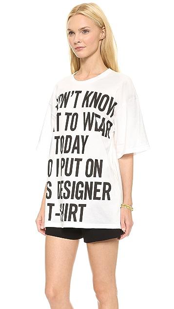 Moschino Designer T-Shirt