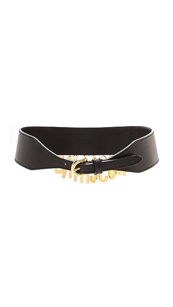 Moschino Chain Contour Moschino Belt