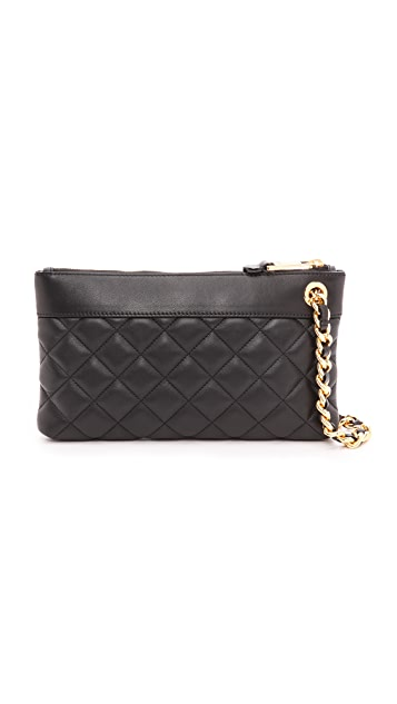 Moschino Leather Clutch