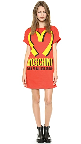 The TrueSelf | moschino mcdonalds t shirt